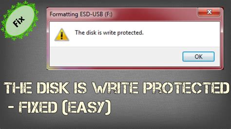 format flash disk write protected raw how to remove write protection on usb drive 2016 youtube