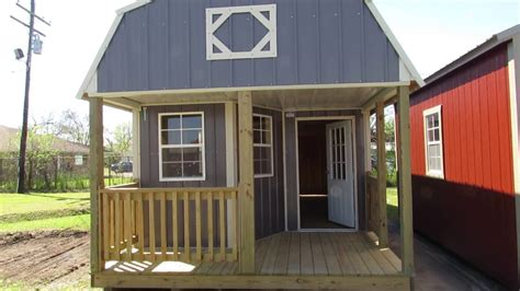 Lofted Barn Cabin Plans by New Derksen 12x32 Z Metal Deluxe Lofted Barn Cabin