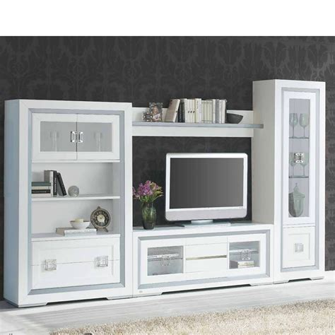 decorar salon tele muebles de sal 243 n comedor con vitrina baja y mueble tv