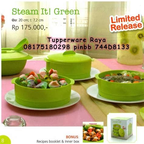 Tupperware Steam It Green tupperware raya katalog tupperware promo januari 2014