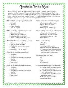 6 best images of free printable trivia and