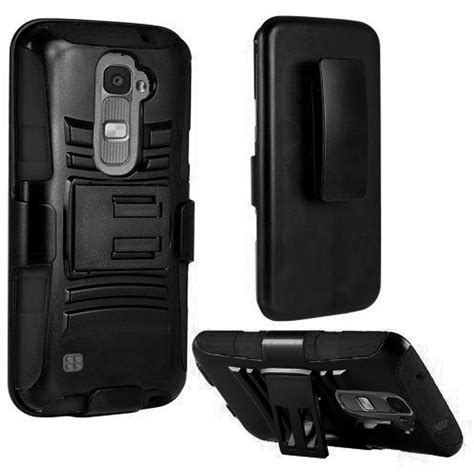 Hardcase Clip Belt Lg X Screen Stand Soft Casing for lg tribute 5 k7 k8 heavy duty rugged stand belt clip holster cover