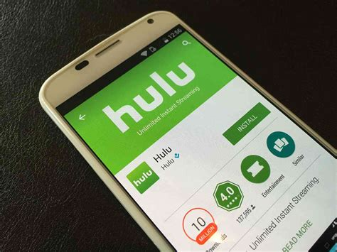 hulu app android at t hulu deal will give hulu shows to at t customers phonedog