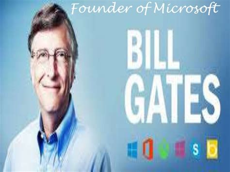 ppt on biography of bill gates bill gates biography