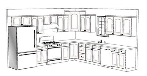 10x12 Kitchen Floor Plans by Kitchen Floor Plans 10x12
