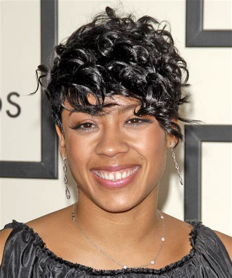kiesha cole s hort fingerwave curly hairstyles on pinterest keyshia cole short black hairstyles