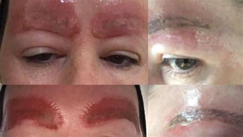 tatuajes de las cejas mujer advierte de las consecuencias de tatuarse las cejas