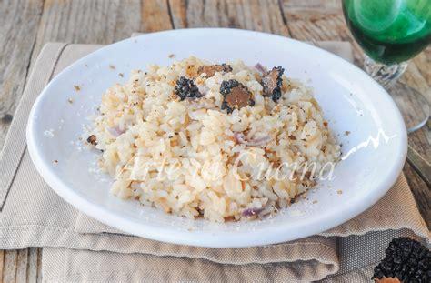 come si cucina il tartufo nero risotto al tartufo nero estivo ricetta facile arte in cucina