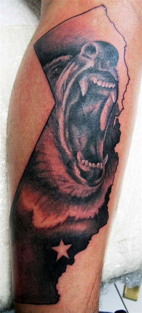 california bear tattoo designs 25 best ideas about california tattoos on