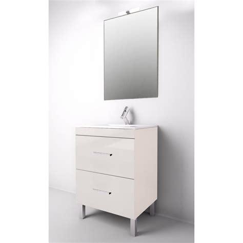 granada meuble de salle de bain blanc 60 cm vasque mmbesgrab060blbr salle de bain wc