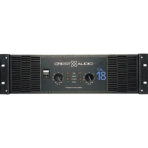 Power Lifier Sound Standard Ca 18 Crest Audio Ca 18 5000w Power Lifier Musician S Friend