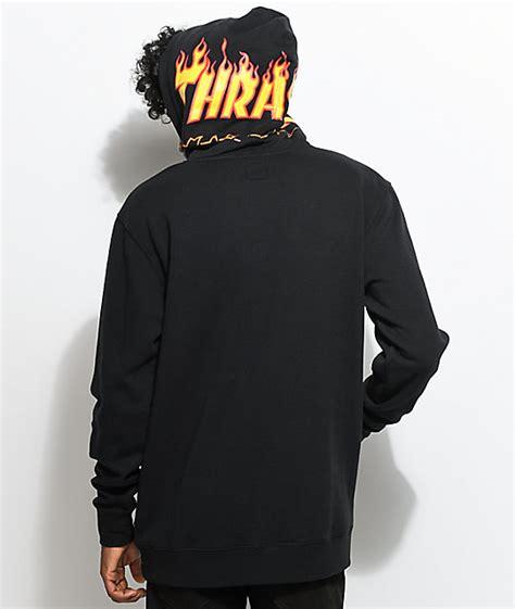 Thrasher X Vans vans x thrasher black hoodie zumiez