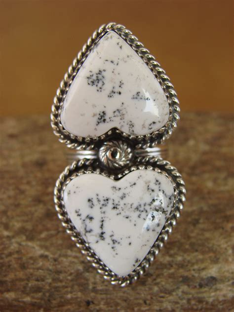 american white buffalo turquoise sterling silver
