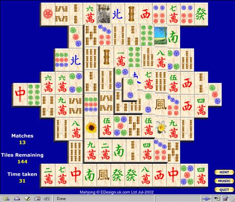 game design mahjong solitaire mahjongg a guide to the world of the computer