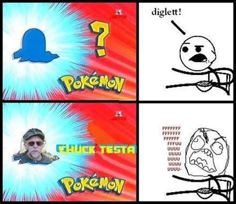 Nope Chuck Testa Meme - chuck testa pokemon meme pokemon pinterest smosh