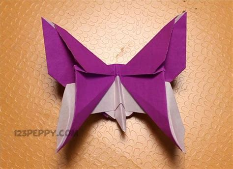 Step By Step Origami Butterfly - crafts origami and origami on