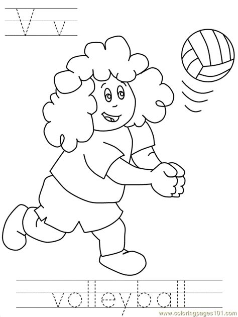 volleyball coloring pages pdf bposter volleyball coloring page free volleyball