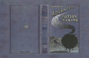 advanced potion book cover files harry potter