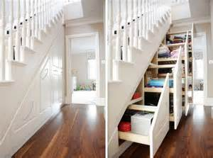 stairs storage 30 under stair shelves and storage space ideas freshome com