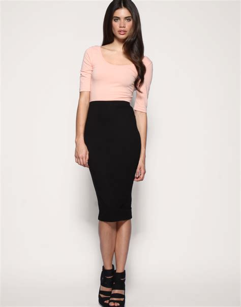 Pensil Skirt by Trendy Jam Brightness With Asos