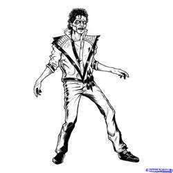 michael jackson coloring pages free coloring pages of michael jackson drawings