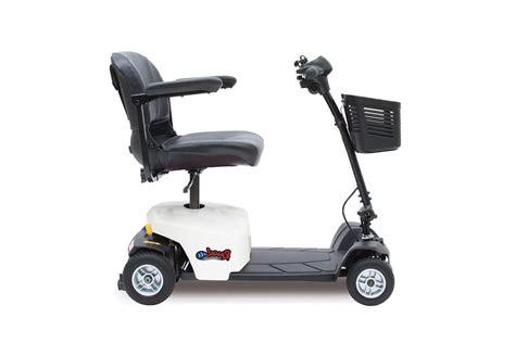 mega motion inc rascal series 8 4 wheel scooter white
