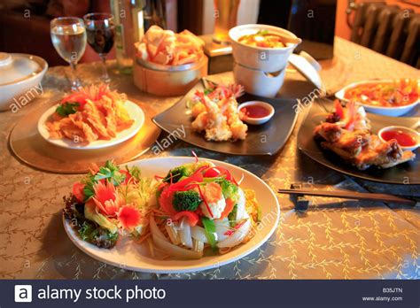 cuisine orient cuisine of pad rice dishes food in a