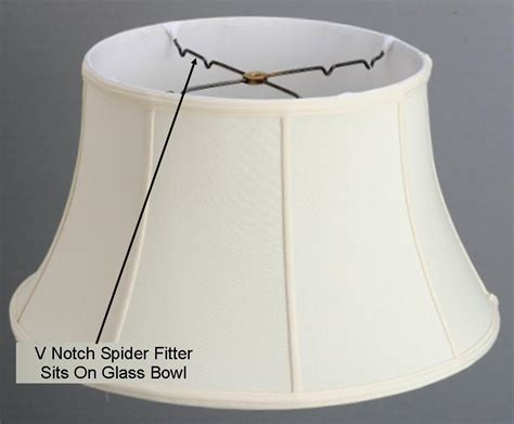 spider reflector l shade anasa l shade with black silk rich fabric lshades