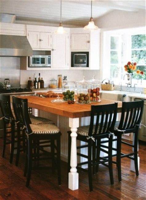 kitchen island seats 4 perpendicular seating kitchen islands vs dining tables