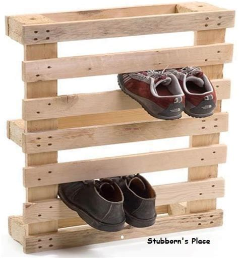 easy to make shoe rack wood and or pallets
