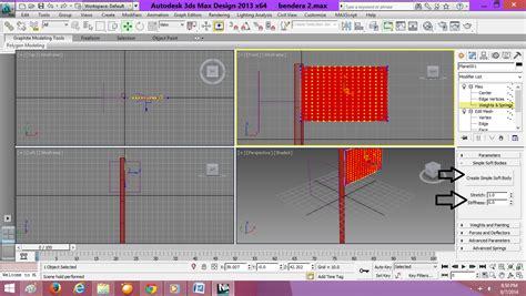 download video cara membuat gambar 3d cara membuat animasi bendera berkibar menggunakan 3dsmax