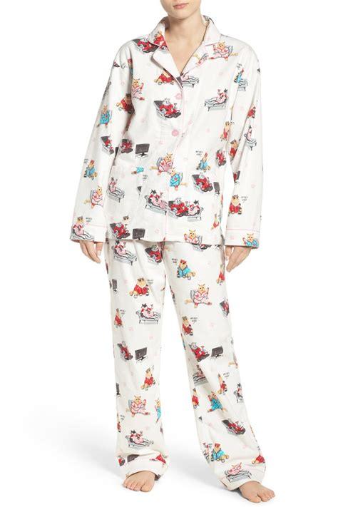 Pj Pj Pajamas pj salvage print flannel 2 pajama set nordstrom rack