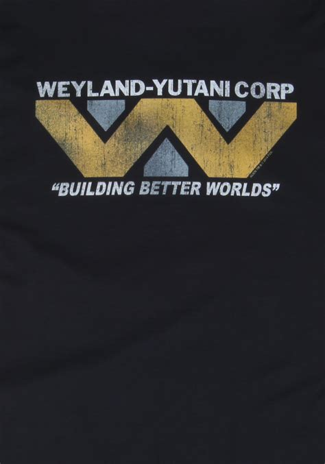 Weyland Corp T Shirt weyland corp t shirt