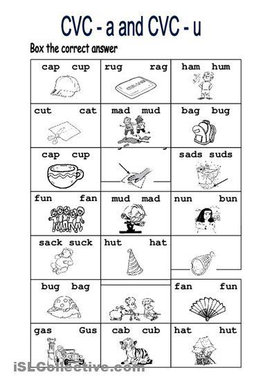 Free Cvc Worksheets by Worksheets Cvc Worksheets For Kindergarten Opossumsoft