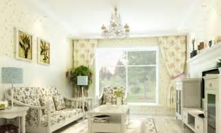 Korea Style Interior Design by Pastoral Style Living Room Interior Layout Interior Design