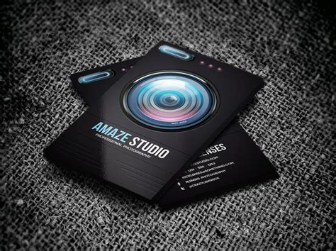 free photography business cards templates awesome photography business card designs graphic cloud