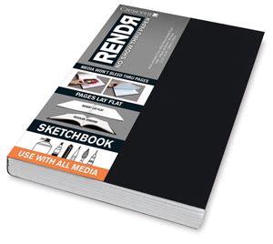 sketchbook sizes 13655 1035 crescent rendr no show thru paper blick