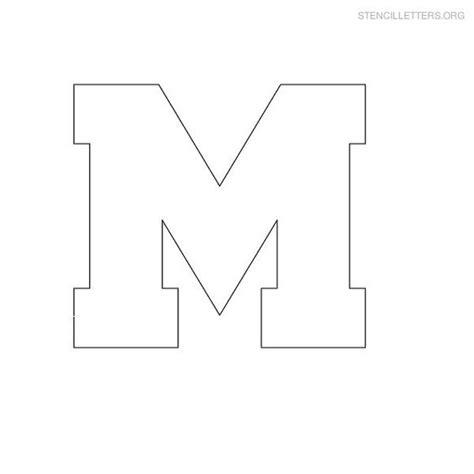 stencil lettere free printable block letter stencils stencil letters m