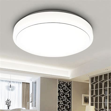 living room flush mount lighting 18w led ceiling light round flush mount fixture l