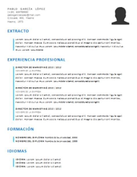 Modelo De Curriculum Funcional Gratis Curriculum Vitae Funcional 21 Plantillas Para Descargar Gratis