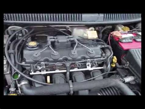 dodge neon  thermostat replacement youtube