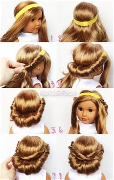American Hairstyles Tutorials by 1000 Images About American Doll Hairstyles On