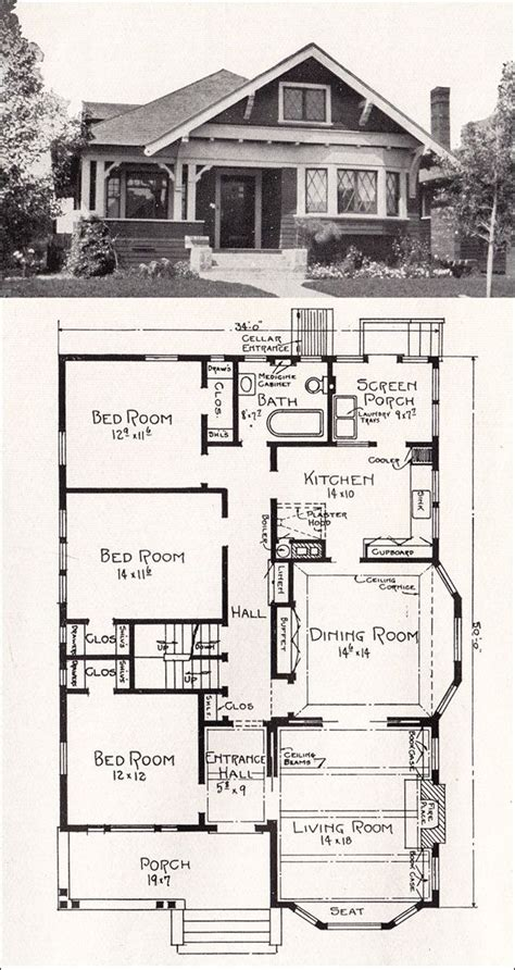 bungalow house floor plan 25 best ideas about bungalow floor plans on pinterest