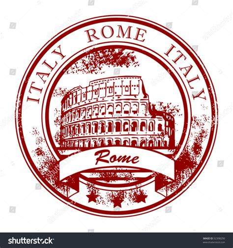 how to make rubber st in word grunge rubber st colosseum word rome stock vector