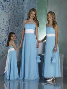 Blue knee length bridesmaid dress with straps available at au bridal