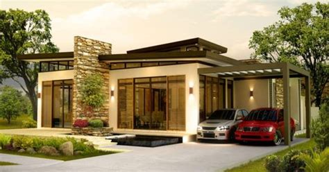 comely  house design  philippines  bungalow