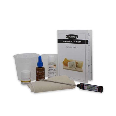 kit para hacer queso en casa kit est 225 ndar para hacer queso cocinista www cocinista es
