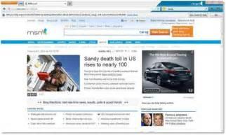 msn com image gallery keep old msn homepage