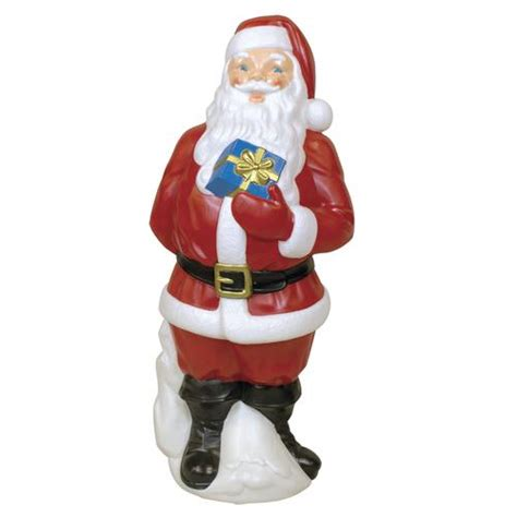 34 quot santa with gift blowmold at menards 174