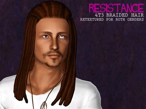 dreadlocks male sims3pack 17 best images about sims3 cas hairs on pinterest